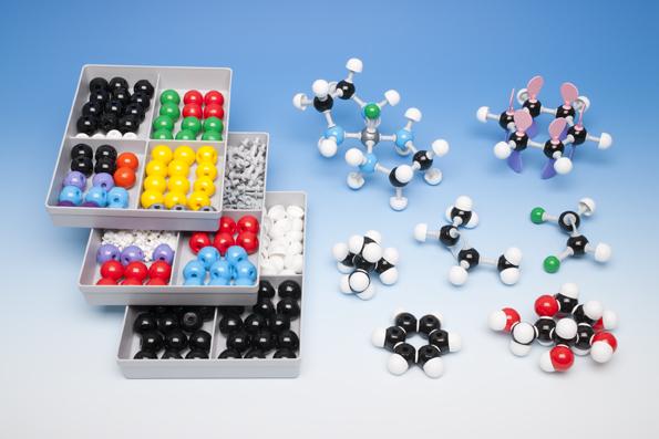 Leer ze hoe moleculen gebouwd zijn