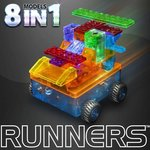 Car Runner 8 in 1 - Laser Pegs