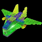 Vliegtuig 4 in 1 - Laser Pegs