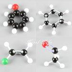 Large Organic/Inorganic Teacher set - Seewell Moleculen Bouwdoos