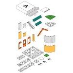 Arckit GO Colours 2.0 - Architectuur bouwdoos