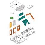 Arckit Mini Dormer Colours 2.0 - Architectuur bouwdoos