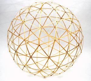 Geodetische koepel - 3D bouwdoos