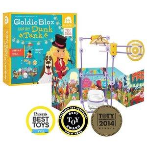 GoldieBlox en de 'Dunk Tank' - Boek en Bouwset