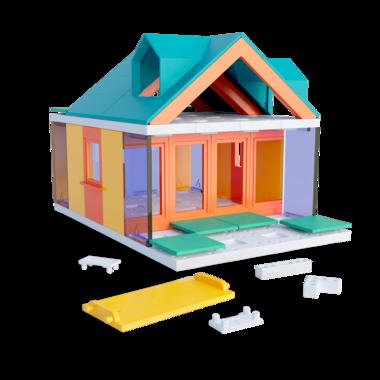 Arckit Mini Dormer Colours - Architectuur bouwdoos