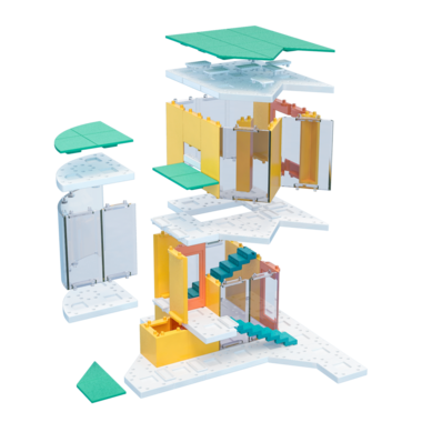 Arckit Mini Modern Colours - Architectuur bouwdoos