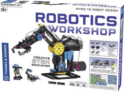 Robotics Workshop: bouw je eigen robots