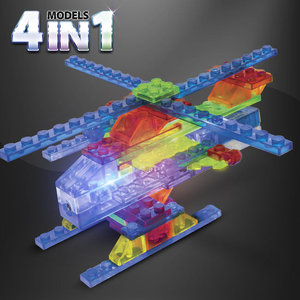 Helicopters 4 in 1 - Laser Pegs