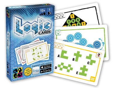 Logic Cards Blue