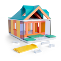 Arckit-Mini-Dormer-Colours-Architectuur-bouwdoos